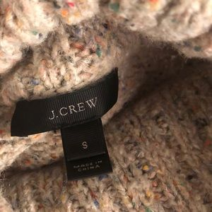 J. Crew Sweaters - J. Crew beige and multi-colored wool knit sweater.